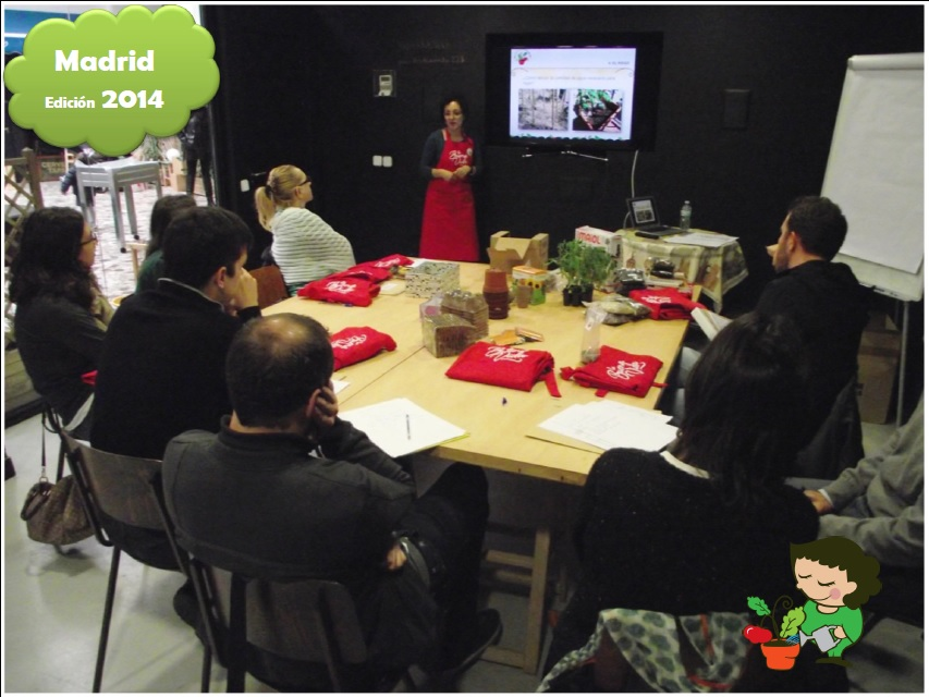 curso huerto ecologico Madrid 2014