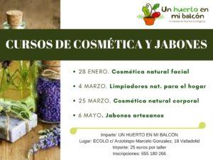 talleres de jabones artesanos y cosmetica natural 2017